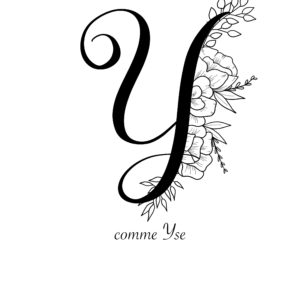 affiche lettre Y