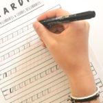 Comment tenir son outil pour le lettrage créatif?