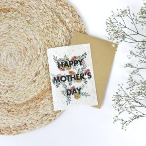 "Carte à planter ""happy mother's day"""