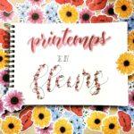 Inspire ton lettering #1 / Avril – thème Printemps