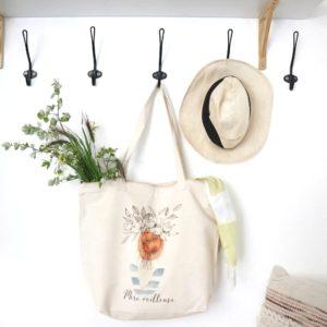 """Le grand sac ou sac de plage """"mère veilleuse"""""""