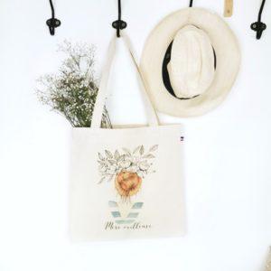 """Le tote bag""""mère veilleuse"""""""